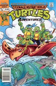 Teenage Mutant Ninja Turtles Adventures #17 (1991)
