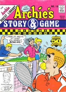 Archie's Story & Game Digest Magazine #19 (1991)