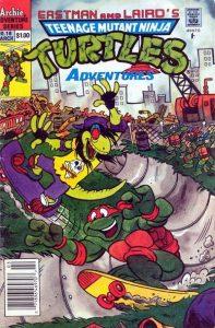 Teenage Mutant Ninja Turtles Adventures #18 (1991)