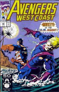 Avengers West Coast #69 (1991)