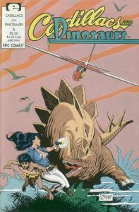 Cadillacs and Dinosaurs #6 (1991)