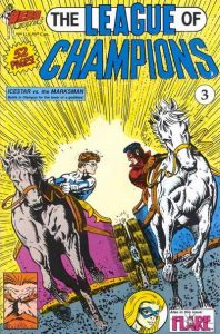 League of Champions #3 (1991)