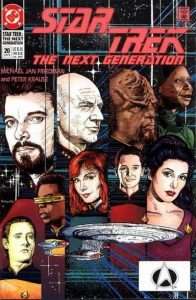 Star Trek: The Next Generation #20 (1991)