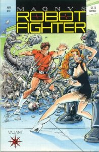 Magnus Robot Fighter #1 (1991)
