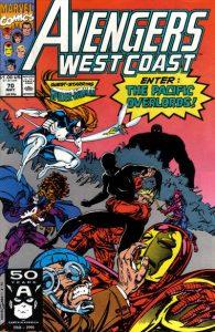 Avengers West Coast #70 (1991)