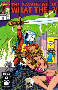 What The--?! #12 (1991)