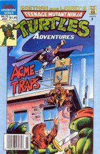 Teenage Mutant Ninja Turtles Adventures #22 (1991)