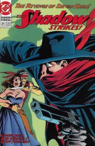 The Shadow Strikes! #21 (1991)