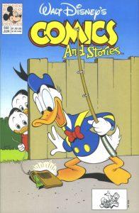 Walt Disney's Comics and Stories #560 (1991)