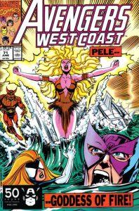 Avengers West Coast #71 (1991)