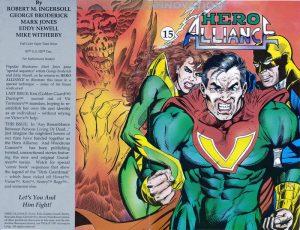 Hero Alliance #15 (1991)