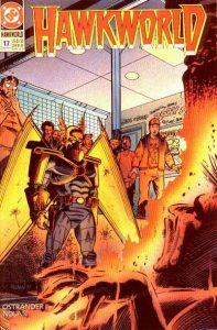 Hawkworld #17 (1991)