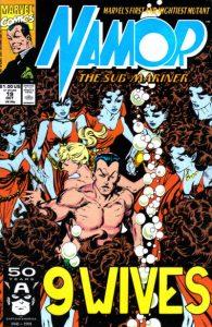 Namor, the Sub-Mariner #19 (1991)