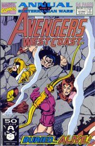 Avengers West Coast Annual #6 (1991)