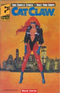 Cat Claw #9 (1991)
