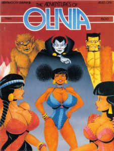 The Adventures of Olivia #3 (1991)
