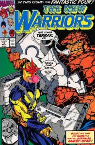 The New Warriors #17 (1991)