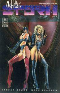 Achilles Storm/Razmataz #4 (1991)