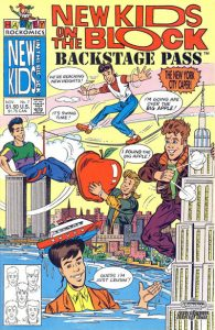 New Kids on the Block Backstage Pass #7 (1991)