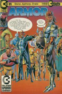 Armor #11 (1991)