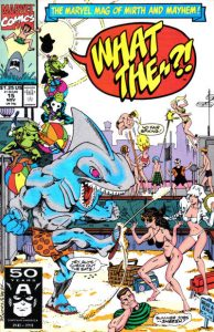 What The--?! #15 (1991)