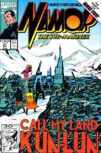 Namor, the Sub-Mariner #21 (1991)