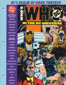 Who's Who in the DC Universe #15 (1991)