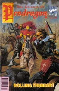 The Knights of Pendragon #18 (1991)