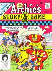 Archie's Story & Game Digest Magazine #21 (1991)