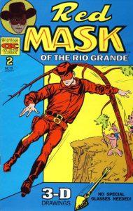 Redmask of the Rio Grande #2 (1992)
