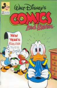 Walt Disney's Comics and Stories #569 (1992)