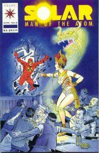 Solar, Man of the Atom #8 (1992)