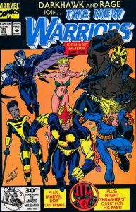 The New Warriors #22 (1992)
