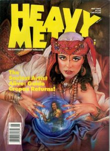 Heavy Metal Magazine #138 (1992)