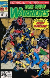 The New Warriors #24 (1992)
