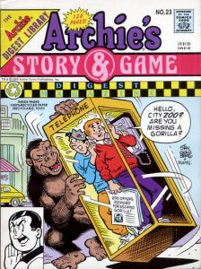 Archie's Story & Game Digest Magazine #23 (1992)