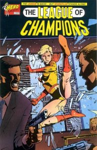 League of Champions #4 (1992)