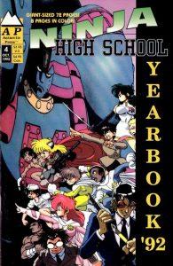 Ninja High School Yearbook #4 (1992)