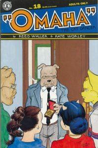 Omaha the Cat Dancer #18 (1993)