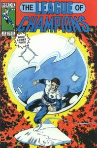 League of Champions #10 (1993)