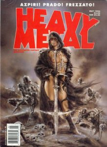 Heavy Metal Magazine #144 (1993)