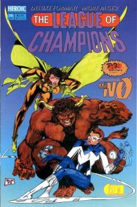 League of Champions #11 (1993)
