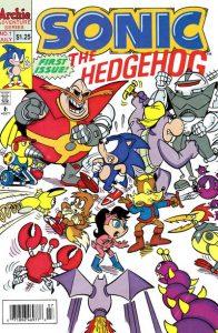 Sonic the Hedgehog #1 (1993)