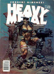 Heavy Metal Magazine #145 (1993)