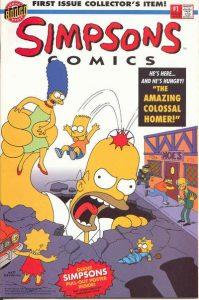 Simpsons Comics #1 (1993)