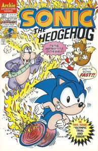 Sonic the Hedgehog #5 (1993)