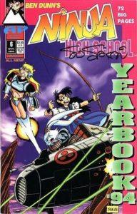 Ninja High School Yearbook #6 (1994)