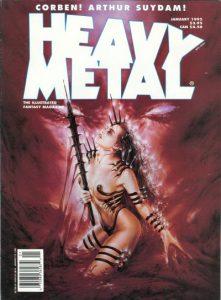 Heavy Metal Magazine #154 (1995)