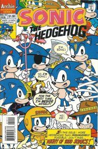 Sonic the Hedgehog #19 (1995)