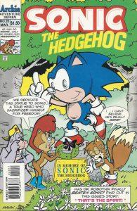 Sonic the Hedgehog #20 (1995)